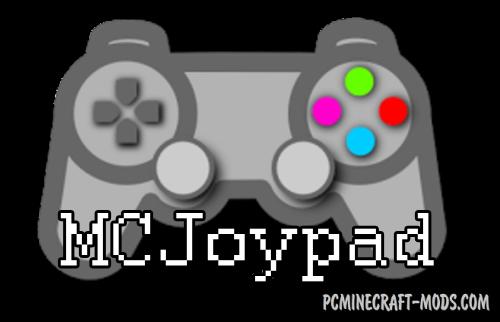 MCJoypad - GUI Mod For Minecraft 1.12.2, 1.10.2, 1.7.10