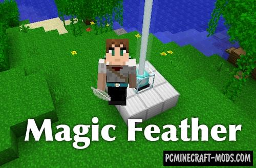 Magic Feather - Magic Item Mod For MC 1.16.2, 1.15.2, 1.12.2