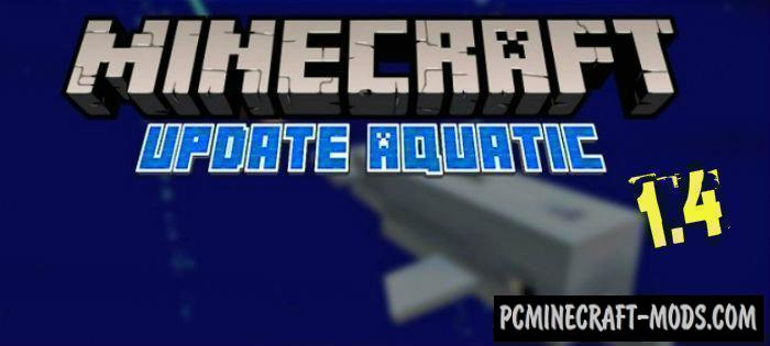 Download Minecraft PE 1.6.1.0, 1.5.3 The Aquatic Update Apk & iOS