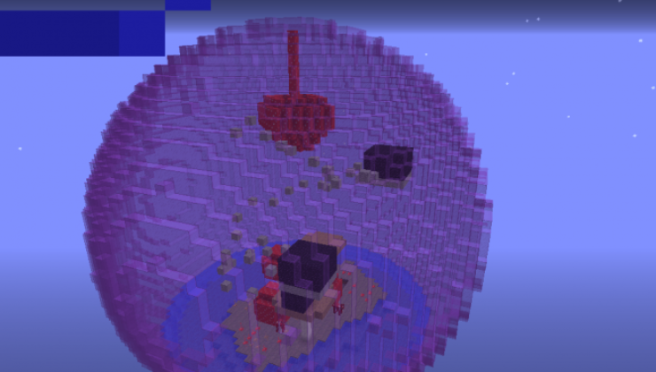 Biome Sphere Parkour Map For Minecraft