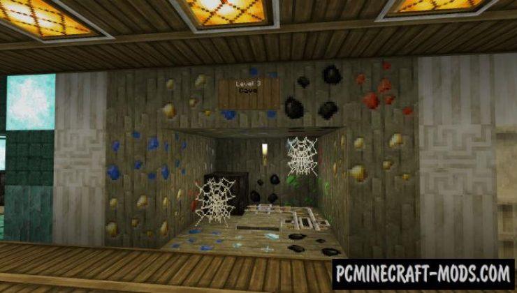 Old School Mega Dropper - Minigame Minecraft PE Map 1.16