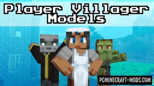 Player Villagers 16x Resource Pack For Minecraft 1.12.2