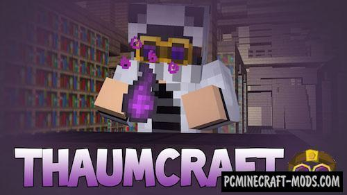 Thaumcraft Mod For Minecraft 1.12.2, 1.10.2, 1.8.9, 1.7.10