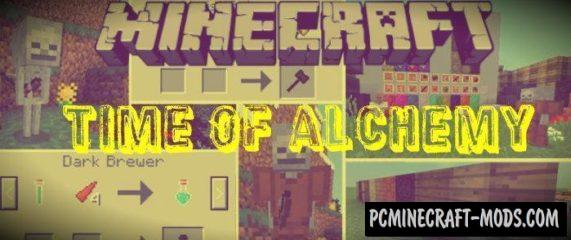 Time Of Alchemy Minecraft PE Bedrock Mod / Addon 1.2.9, 1.2.8