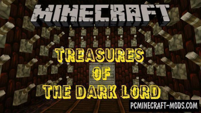 Treasures Of The Dark Lord MCPE RPG Map 1.5.0, 1.4.0