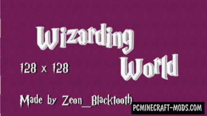 Wizarding World Resource Pack For Minecraft 1.12.2