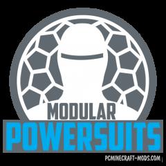 Modular Powersuits - Tech Mod For Minecraft 1.16.5, 1.12.2
