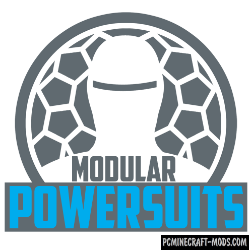 Modular Powersuits Mod For Minecraft 1.12.2, 1.10.2, 1.8.9, 1.7.10