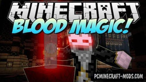 Blood - Magic Tech, Farming Mod For Minecraft 1.16.5, 1.12.2