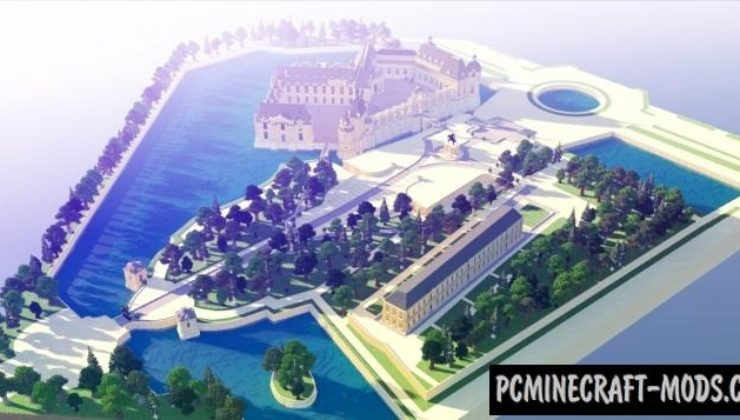Chateau de Chantilly - Building Map For Minecraft