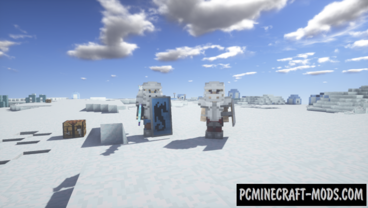 Ice and Fire Dragons - New Mobs Mod Minecraft 1.16.4, 1.12.2