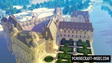 Chateau de Chantilly Map For Minecraft