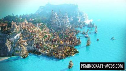 Novigrad Map For Minecraft