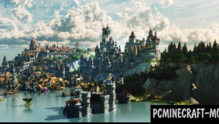 Novigrad - City, Castle Map For Minecraft