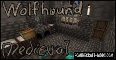 Wolfhound Classic Medieval 64x Resource Pack 1.15.2, 1.14.4