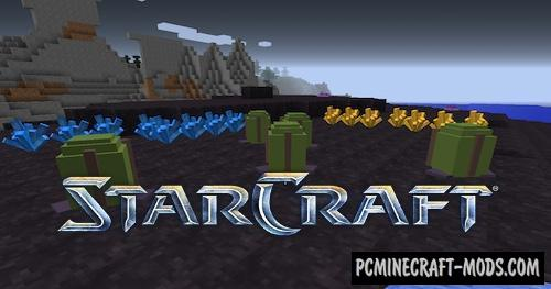 Starcraft 2 BattleCruiser Map For Minecraft 1 14 4, 1 14 3 | PC Java