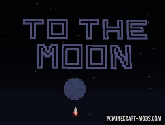 To the Moon! Map For Minecraft