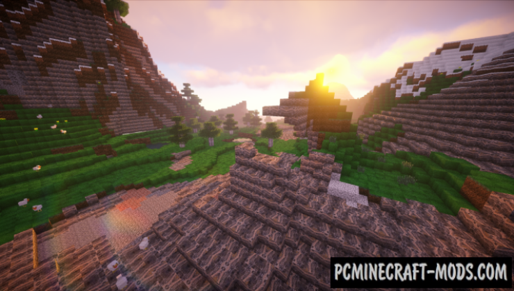 Trance 128x Resource Pack For Minecraft 1.12.2