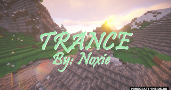 Trance Resource Pack For Minecraft 1.12.2 | PC Java Mods