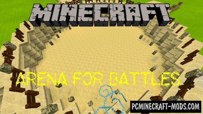 minecraft pe battle arena seed