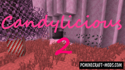 Candylicious 2 Resource Pack For Minecraft 1.12.2