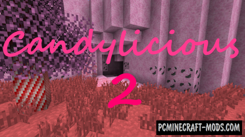 Candylicious 2 16x16 Resource Pack For Minecraft 1.14.4