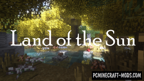 Land of the Sun 16x Resource Pack For Minecraft 1.12.2