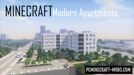 Modern Apartment Building 6 Map For Minecraft