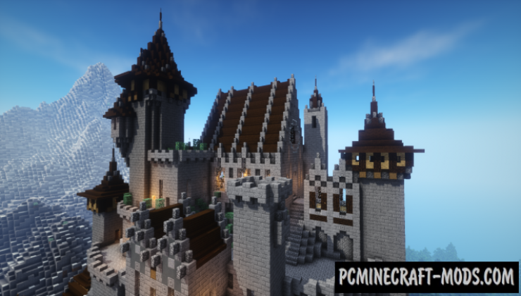 Castle Kadahaar Map For Minecraft