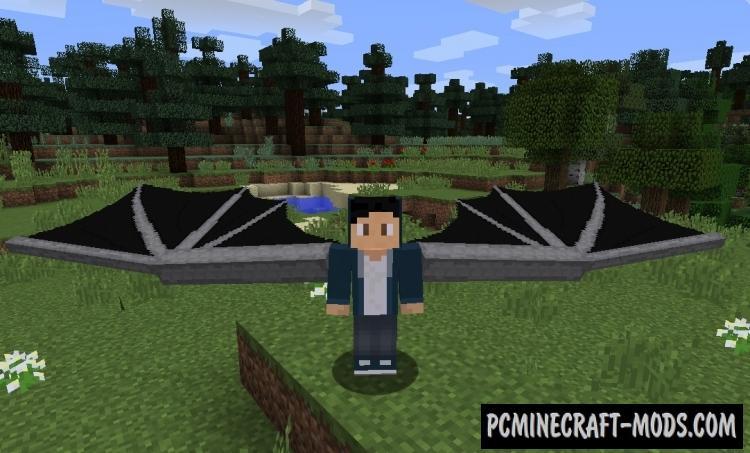 DragonWingsElytra Mod For Minecraft 1.12.2