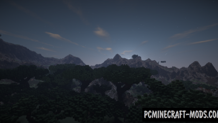 Realistic Terrain Map For Minecraft