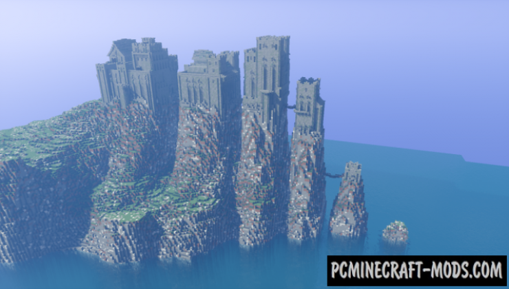 Game of Thrones - Pyke Map For Minecraft