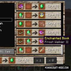 Villager Market Mod For Minecraft 1.12.2, 1.11.2, 1.10.2