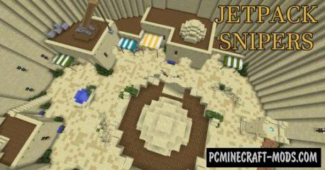 Jetpack Snipers Map For Minecraft