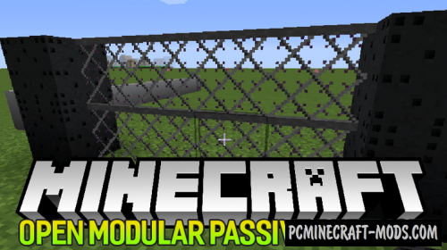 Open Modular Passive Defense Mod For Minecraft 1.12.2, 1.11.2, 1.10.2