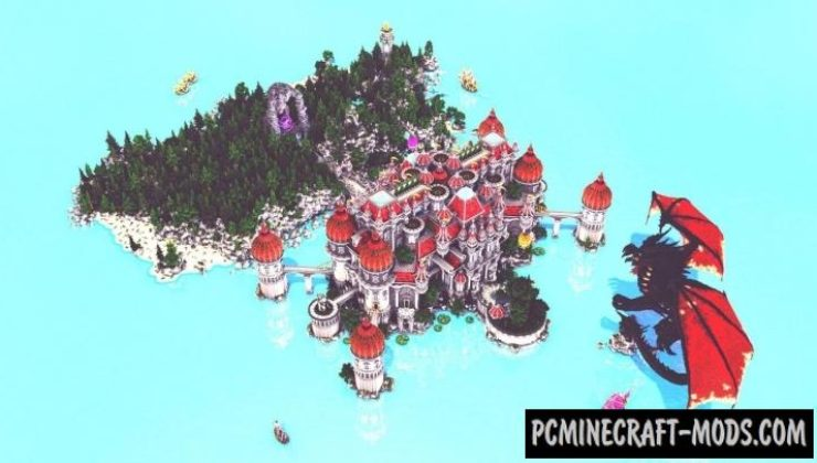 Gateux Map For Minecraft
