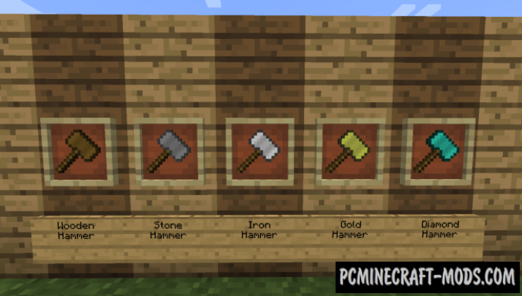 Sparks Hammers Mod For Minecraft 1.12.2, 1.11.2, 1.10.2, 1.7.10