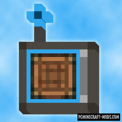 Wireless Crafting Terminal Mod For Minecraft 1.12.2, 1.10.2, 1.7.10