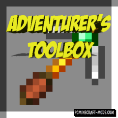 Adventurer's Toolbox Mod For Minecraft 1.12.2