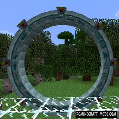 Stargate Atlantiscraft Mod For Minecraft 1.12.2