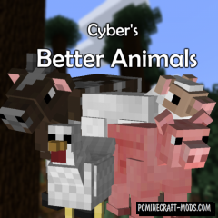 Better Animal Models - Mob Shaders Mod For MC 1.16.5
