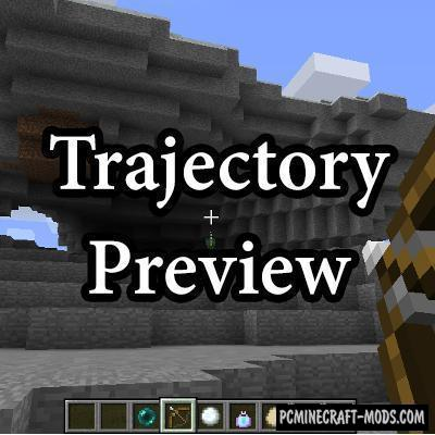 Trajectory Preview Mod For Minecraft 1.12.2, 1.11.2