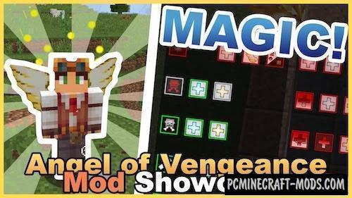 Angel of Vengeance Mod For Minecraft 1.12.2, 1.11.2, 1.10.2