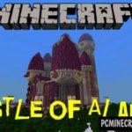 Modern Castle Minecraft PE Bedrock Map 1.6.1, 1.6.0, 1.4.4