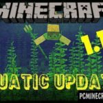 Download Minecraft PE 1.4.0, 1.4.1 The Aquatic Update Apk & iOS
