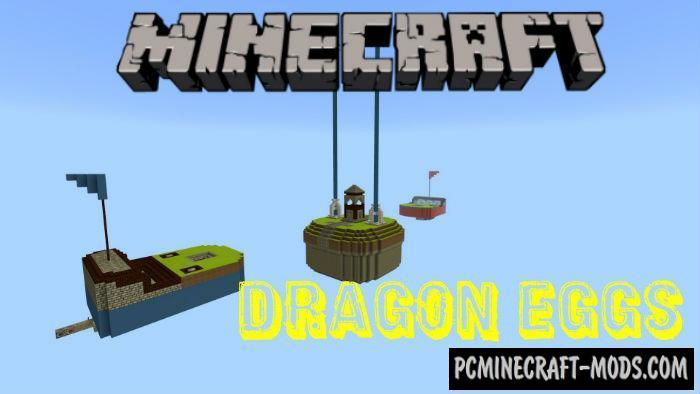 Dragon Eggs Mini-Game Minecraft PE Map 1.5.0, 1.4.0, 1.2.13
