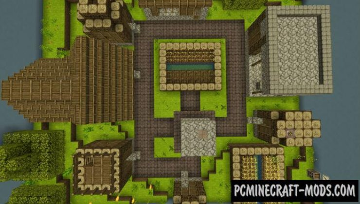 Find The Items Mini-Game Minecraft PE Bedrock Map 1.2.11, 1.2.10