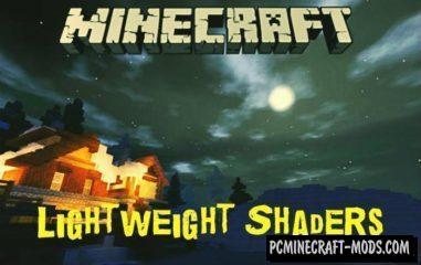 Lightweight Shaders Minecraft PE Bedrock Mod 1.6.1, 1.6.0, 1.5.3