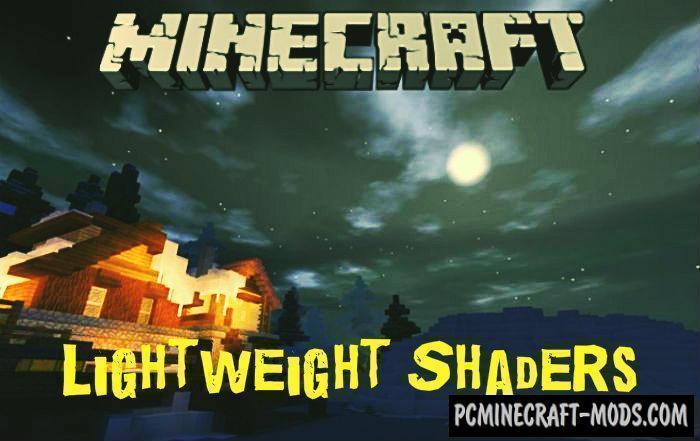 Lightweight Shaders Minecraft PE Bedrock Mod 1.9.0, 1.8.0, 1.7.0
