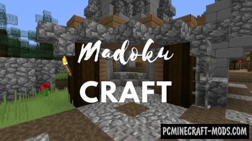 MadokuCraft 32x Resource Pack For Minecraft 1.15.2, 1.14.4